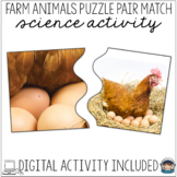 Farm Puzzles with Photographs – Visual Discrimination Science Center Activity