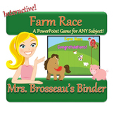 Farm Race: PowerPoint Review Game for ANY Subject!