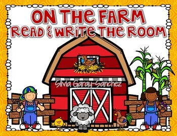 Farm Read and Write the Room Center