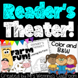 Farm Animals Reader's Theater Book!