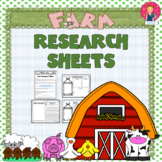 Research Sheets {Farm Themed}