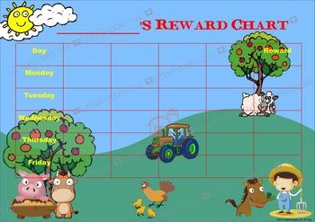 Farm Reward Chart