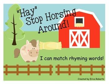 Farm Rhyming