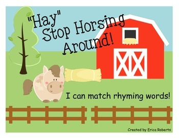 Farm Rhyming