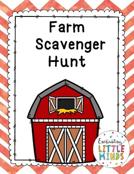Farm Scavenger Hunt