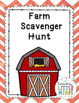 Farm Scavenger Hunt