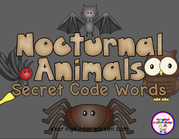Nocturnal Animals Secret Code Words