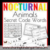 Nocturnal Animals Secret Code Words