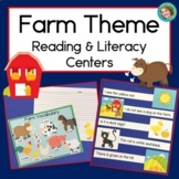Farm Sentence Picture Match Reading Center
