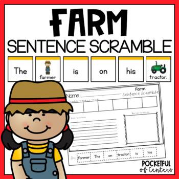 Farm Sentence Scramble
