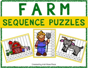 Farm Sequence Puzzles