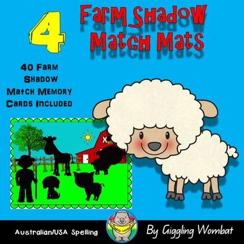Farm Shadow Match Mats