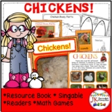 Farm Chickens : Farm Chickens Non-fiction, Science, Literacy and Math Activities