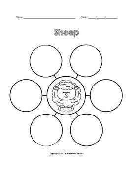 Farm Sheep Writing Activities