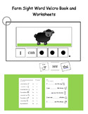 Farm Sight Word Velcro Book (Adapted Book)