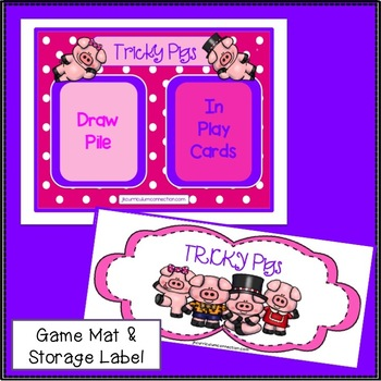 Farm Sight Word Game- Tricky Pigs! {EDITABLE}