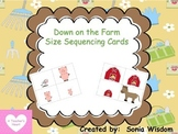 Sequencing by Size - Farm Theme