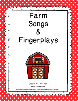 Farm Songs & Fingerplays