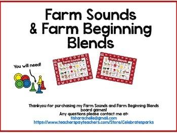 Farm Sounds & Blends Board games