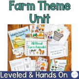 Farm: Special Ed Thematic Unit