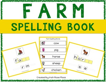 Farm Spelling Books (Adapted Book)