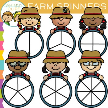 Farm Spinners Clip Art