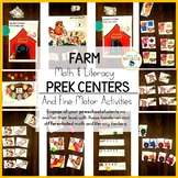 Farm Centers and Fine Motor Activities