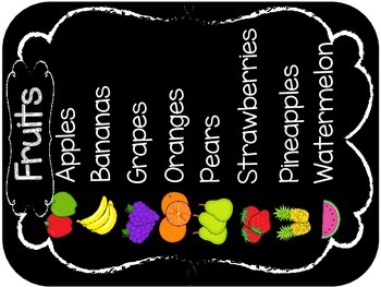 Farm Stand Dramatic Play (Fruits, vegetables & flowers)