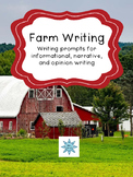 Farm Field Trip Writing