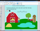 Farm Storyboard for Addition/Subtraction Sentences
