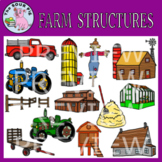 Farm Structures Clipart