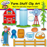 Farm Stuff Clip Art