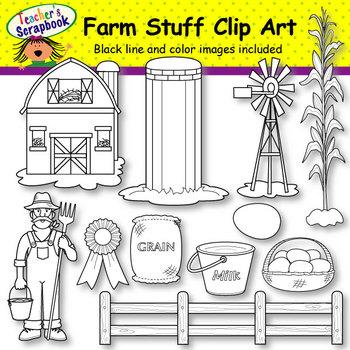 Farm Stuff Clip Art