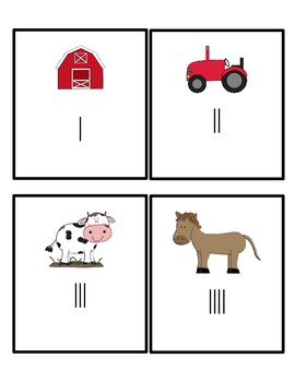 Farm Tally Mark Math Center