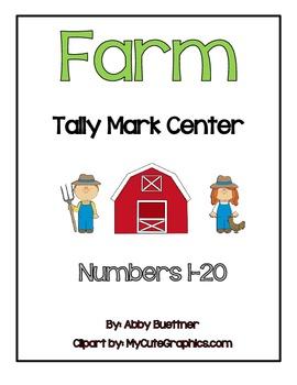 Farm Tally Mark Math Center
