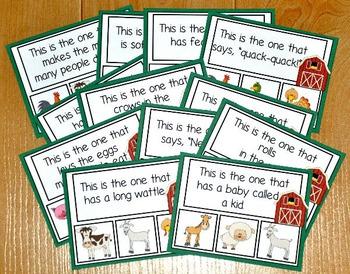 Farm Task Cards