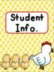 Farm Teacher Binder {FREE yearly updates!}