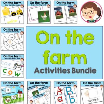 Farm PreK Literacy and Math Activities