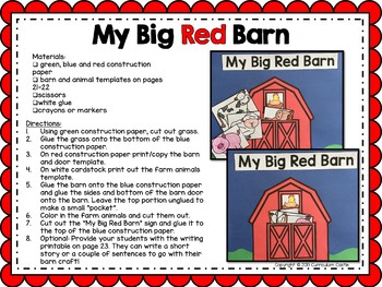 Farm: Thematic Unit - Activities and Printables!