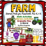 Preschool Farm Theme Activity Pack