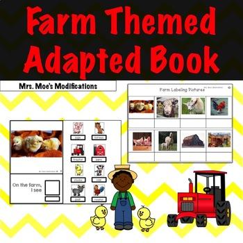 Farm Theme Adapted Book