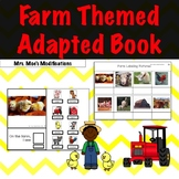 Farm Theme Adapted Book
