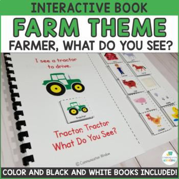 Farm Theme Adapted Book - Dollar Deal!