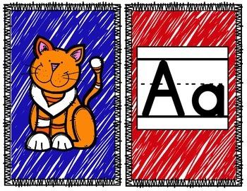 Farm Theme Alphabet Banner