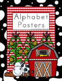 Farm Theme Alphabet Posters