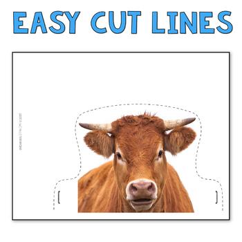 Farm Theme Animal Crowns Old MacDonald Fun Activity