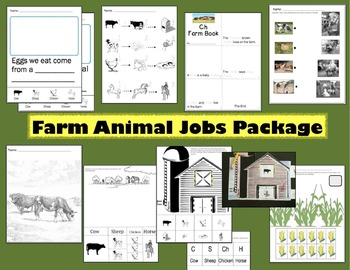 Farm Theme Animal Products Unit