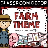 Farm Theme - Classroom Decor