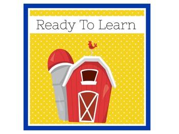 Farm Classroom Decor   Farm Classroom Theme   Farm Animal Theme