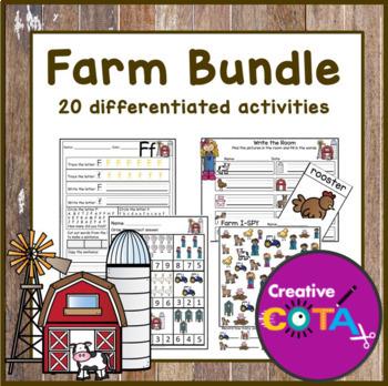 Farm Theme Bundle Differentiated